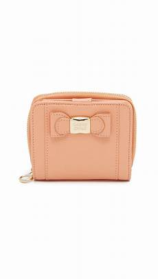 see by chlo 233 small wallet in orange lyst