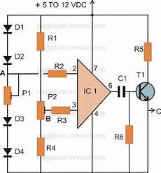 make this thermo touch operated switch circuit using ic 741 circuit coll