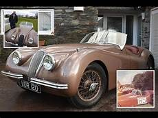 jaguar car owner the 1950s jaguar xk120 sports car that cost its owner just