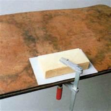 Holzfurnier Ausbessern Wenn Das Furnier Besch 228 Digt Ist