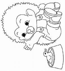 Herbst Ausmalbilder Igel Hedgehog Coloring Pages Coloringpages1001