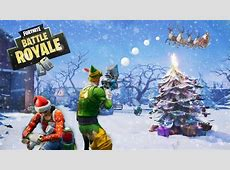 13 Fortnite Christmas Wallpaper For iPhone, Android and