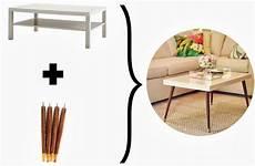 ikea möbel aufwerten lack turned mid century modern coffee table inspiration