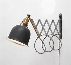 scissor l articulating adjustable brass swing sconce industrial wall extension