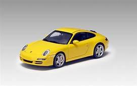 AUTOart Porsche 911 997 Carrera S  Yellow 57882 In 1