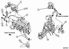 1997 ford 460 engine diagram on a 1997 ford f 350 460 7 5l just got new exhaust manifolds mechanic is now telling me i