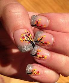 15 cute easy fall autumn nail art designs ideas