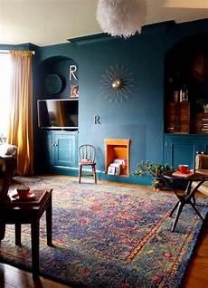 mur bleu paon mur bleu paon satur 233 sublim 233 par une niche murale peinte