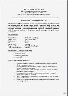 resume blog co resume sle ca cma cwa years rich experience in finance accounts