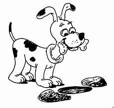 Malvorlage Hund Mit Knochen Gefleckter Hund Mit Knochen Ausmalbild Malvorlage Hund
