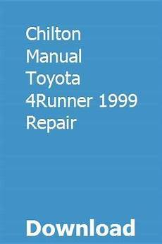 chilton car manuals free download 2010 ford escape seat position control chilton manual toyota 4runner 1999 repair pdf download full online with images chilton