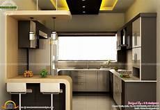 Modular Kitchen Interiors Modular Kitchen Dining And Bedroom Interior Kerala Home