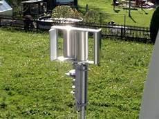 selbstgebautes edelstahl windrad windm 252 hle mit darrieus