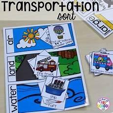transportation math worksheets preschool 15212 transportation math and literacy centers for preschool pre k and kindergarten