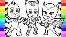 Pj Mask Malvorlagen Harga Gambar Pj Masks Coloring Pages Draw Color Catboy Gekko