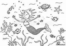 Malvorlage Meerjungfrau Einfach Meerjungfrau Malvorlage Einfach Ausmalbilder Fur Euch