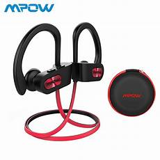 Bluetooth Bluetooth Earphone Noise Cancelling Ipx7 mpow ipx7 waterproof bluetooth 4 1 headphones noise