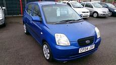 cheap runaround 2004 kia picanto gs 1 0l 5 door hatch blue