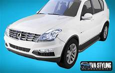 Ssangyong Rexton Side Steps Sapphire Black 2012 On