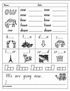vowel digraph quot ow quot studyladder interactive learning games
