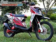 Modifikasi X Ride by Modifikasi Motor Yamaha X Ride Trail Terbaru Modifikasi