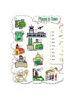 places in my neighbourhood worksheets 16015 worksheet my city places in my neighborhood 2 pages projects to try vocabulary