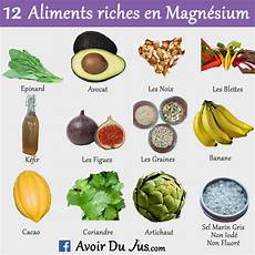 12 Aliments Riches En Magn 233 Sium Avoir Du Jus