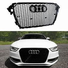 honeycomb sport front grill grille for audi a4 s4 b8 5 rs4 2013 2014 2015 150 00 picclick