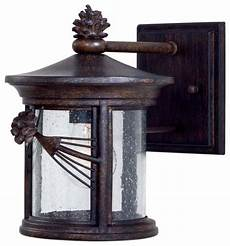 the great outdoors go 9151 1 light 10 quot height outdoor wall sconce from the rustic