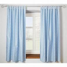 vorhang blau vorhang set wolke blau je 130 x 150 cm 2 schals blau