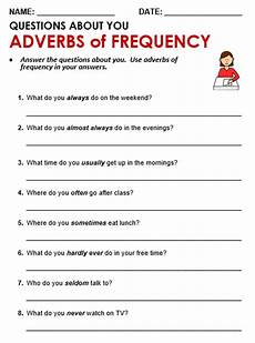 adverbs of time worksheets grade 4 3351 adverbs of frequency all things grammar