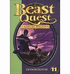 Malvorlagen Beast Quest Xi Beast Quest Tome 11 L Ensorceleuse Adam Blade
