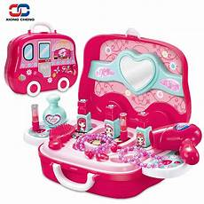 make up set for baby plastic miniature hair