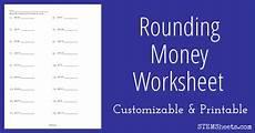 free printable rounding money worksheets 8108 rounding money worksheet stem sheets