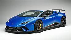 2019 lamborghini huracan performante spyder youtube