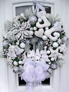 Türkranz Weihnachten Modern - t 252 rkranz weihnachten weihnachtskranz wei 223 beleuchtet tilda