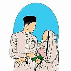 Populer 38 Gambar Kartun Muslimah Romantis Gambar Kartun