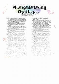 lustigeslettering challenge lettering challenge und