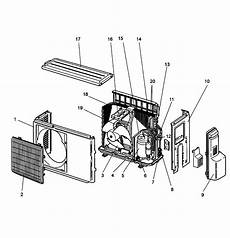 outdoor unit diagram and parts list for mitsubishi airconditioner wiring data apktodownload com