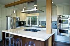 kitchen with island cooktop contemporary kitchen san