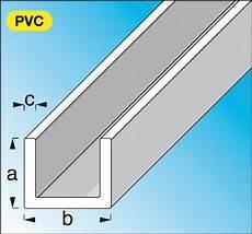 profil 233 u pvc rigide blanc dim 10x21 mm 233 p 1 mm lg 1 m