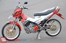 Satria F Modif by Foto Modifikasi Suzuki Satria F150 Hyper Underbone