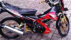 Modifikasi Fu 2012 by Top Modifikasi Motor Satria Fu Warna Hitam Terbaru