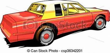 Vector Clipart Of Hobby Racer Stocl Car  Vectpr Stock