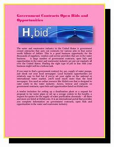 bid on government contracts government contracts open bids and opportunities
