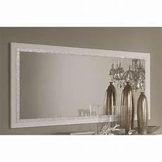 miroir mural miroir mural blanc laqu 233 design concetta l 145 cm taille