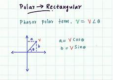 rectangular to polar form polar to rectangular form