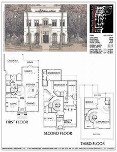 tnd house plans three story urban home plan ad3195 vintage house plans