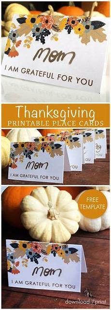thanksgiving 2017 place card templates editable thanksgiving place cards favorite lil