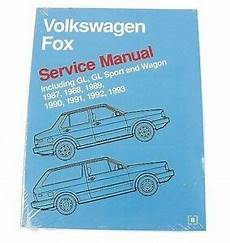 car repair manual download 1987 volkswagen fox windshield wipe control for vw fox gl sport wagon 1987 1993 service repair manual bentley ebay
